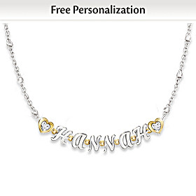 My Granddaughter, My Love Personalized Necklace
