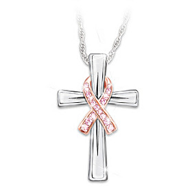 Faith And Hope Pendant Necklace