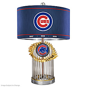 Chicago Cubs World Series Lamp