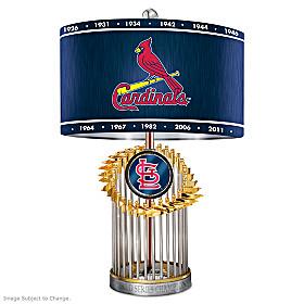 St. Louis Cardinals World Series Lamp