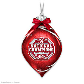 Crimson Tide 2020 Football National Champions Ornament