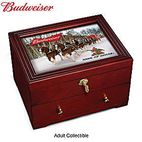 Budweiser: King Of Beers Keepsake Box