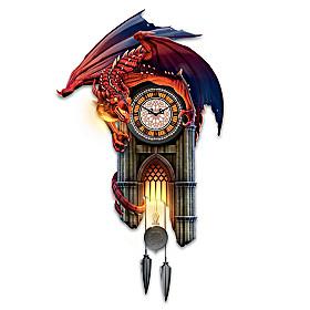 Reign Of Fire Dragon Wall Clock