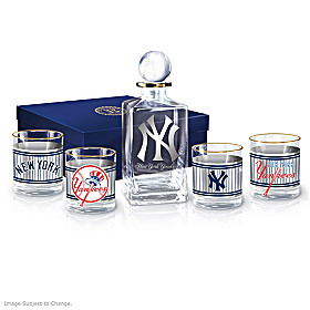 New York Yankees Legacy Decanter Set
