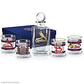 St. Louis Cardinals Legacy Decanter Set