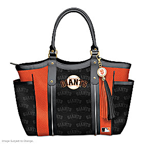 Home Run Giants! Tote Bag
