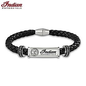 Indian Motorcycle Legacy Men's Bracelet