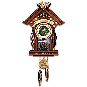 This We'll Defend Cuckoo Clock