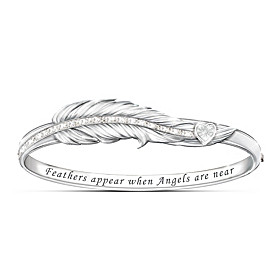 When Angels Are Near Diamond Bracelet
