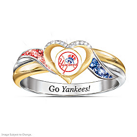 New York Yankees Pride Ring
