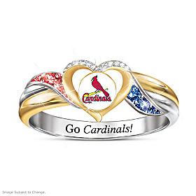 St. Louis Cardinals Pride Ring
