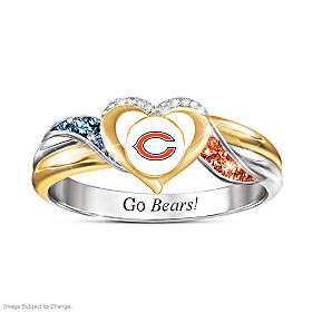 Chicago Bears Pride Ring