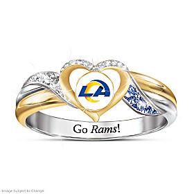 Los Angeles Rams Pride Ring
