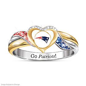 New England Patriots Pride Ring