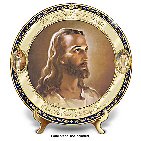 For God So Loved The World Collector Plate