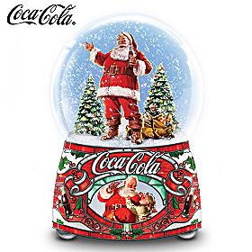 COCA-COLA Share The Joy Glitter Globe