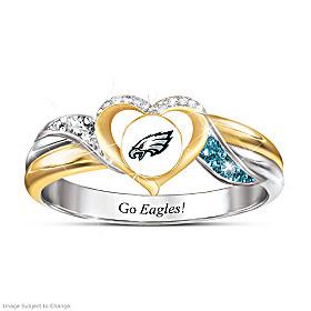 Philadelphia Eagles Pride Ring