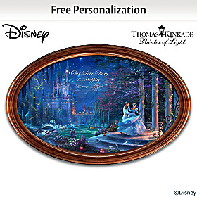Disney Cinderella Personalized Collector Plate