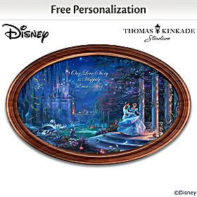 Disney Cinderella Personalized Collector Plate