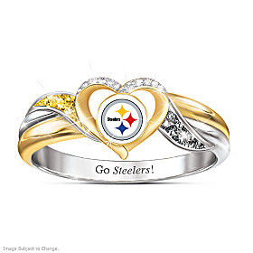 Pittsburgh Steelers Pride Ring
