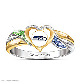 Seattle Seahawks Pride Ring