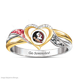 Florida State Seminoles Pride Ring