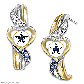 Dallas Cowboys Pride Earrings