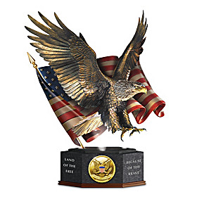 Pride Of America Sculpture
