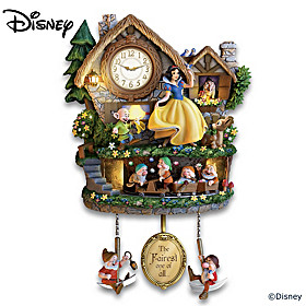 Disney Snow White Hidden Treasure Cuckoo Clock