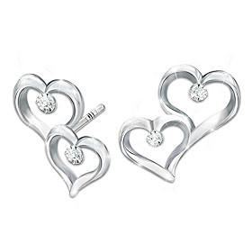 Always My Daughter Diamond Earrings