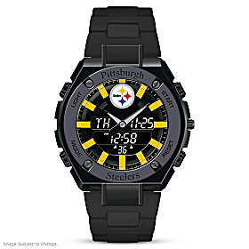 It's Steelers Time! Men's Watch