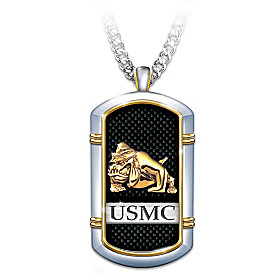 Strength Of The USMC Pendant Necklace