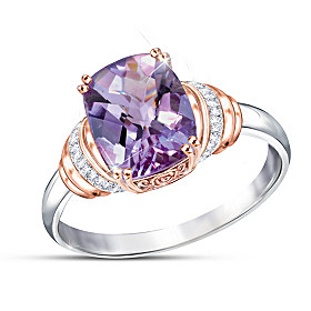 Lavender Radiance Ring