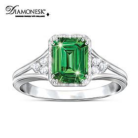 Beauty Of Helenite Ring