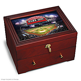 Chicago Cubs Keepsake Box