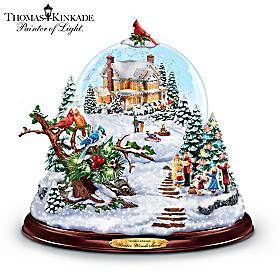 Thomas Kinkade Winter Wonderland Snowglobe