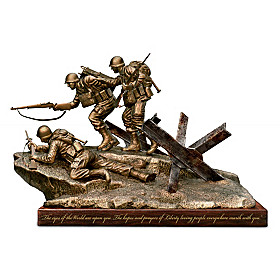 Historic Landing: D-Day Sculpture