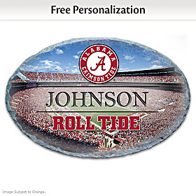 Alabama Crimson Tide Personalized Welcome Sign