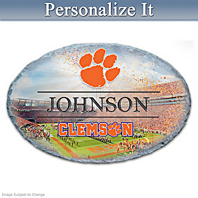 Clemson University Personalized Welcome Sign