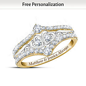 Always Us Personalized Ring