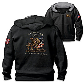 Land Of The Free Men's Hoodie