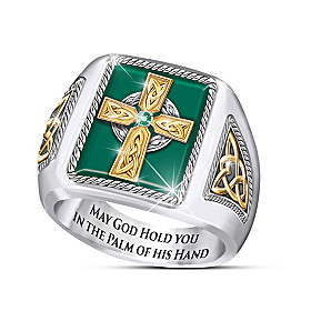 Celtic Blessings Ring