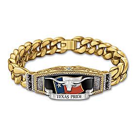 Texas Pride Men's Bracelet