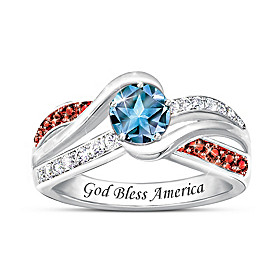 Spirit Of America Ring