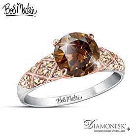 Bob Mackie Mocha Splendor Ring