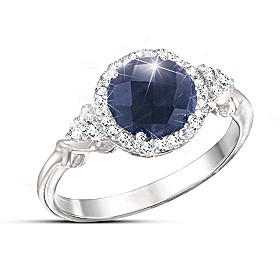 Midnight Splendor Ring