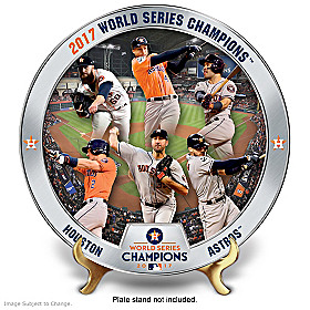 2017 World Series Champions Astros Collector Plate