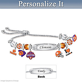Go Tigers Personalized Bracelet