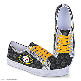 Pittsburgh Steelers Ever-Sparkle Women's Shoes