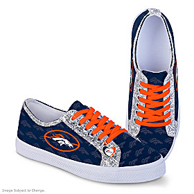 Denver Broncos Ever-Sparkle Women's Shoes